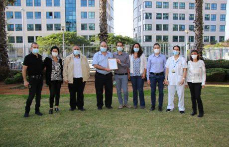 המרכז הרפואי לשיקום לוינשטיין קיבל הכרה כמרכז רפואי מקדם בריאות מארגון HPH NETWORK העולמי