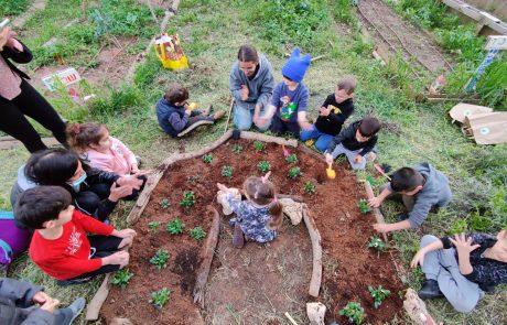 טבע וסביבה בגני הילדים בכפר סבא