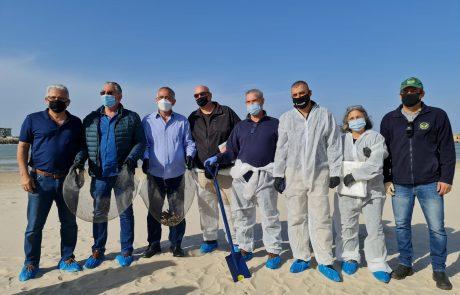ערי העורף של השרון מתגייסות לטובת חוף הים של הרצליה