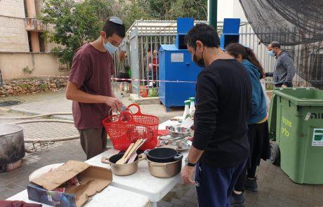 מאות תושבים נהנו משרות הגעלת כלים של המועצה הדתית בכפר סבא