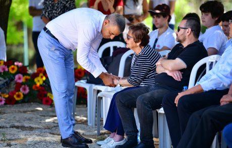 טקס זיכרון להנצחת חללי חטיבת אלכסנדרוני נערך הבוקר בכפר סבא