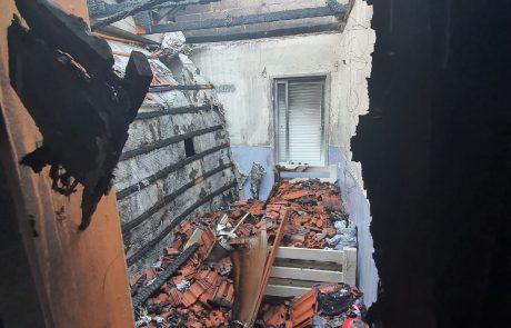 שריפה בבית פרטי – ברחוב מור בכפר סבא